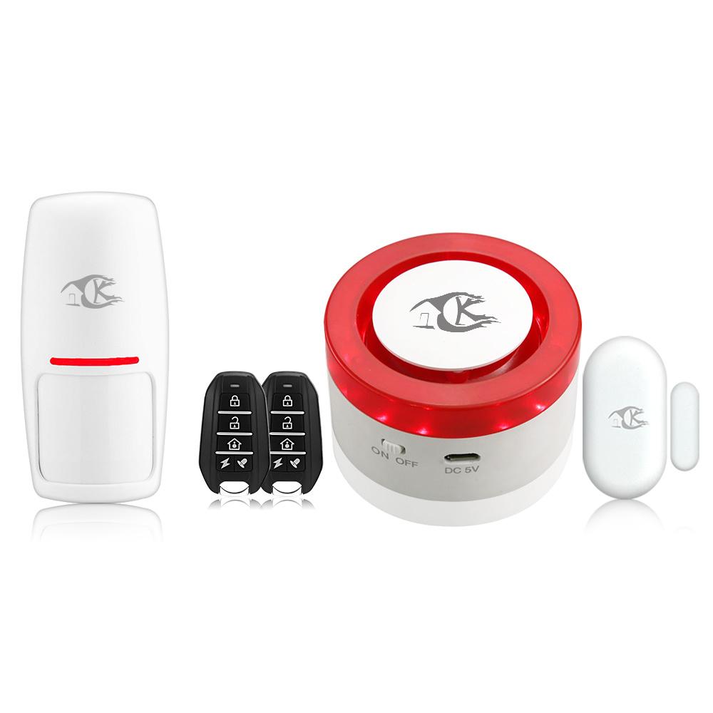 [Hot Item] Smart WiFi Alarm Security System Siren Work with Tuya Smart Life