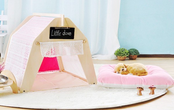 Hot Sell Comfortable New Pet Products Soft Canvas Cat Tent pictures & photos