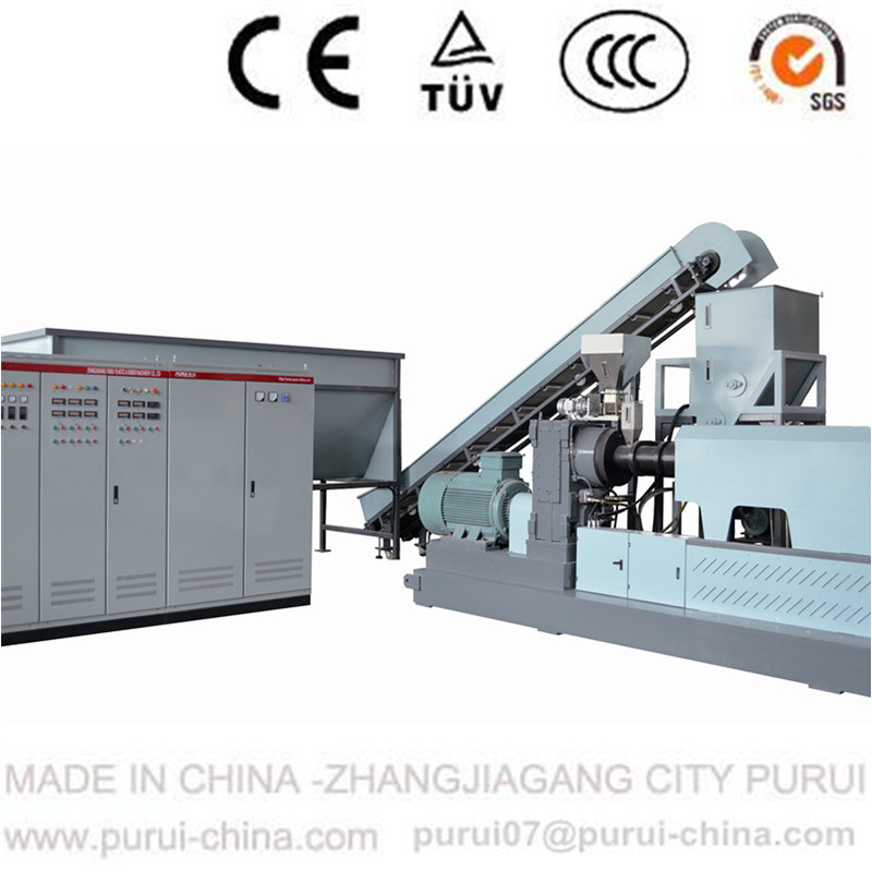 Plastic Granulator to Recycle Agglomerated Film and Plastic Flakes