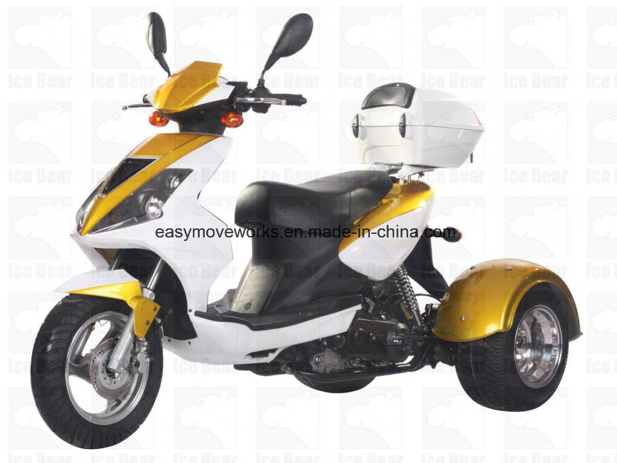 Zhenhua Mojo Pst50-8 Motorcycle Disc EPA Trike Cdi Elec Start pictures & photos