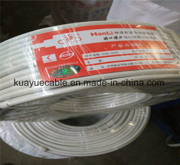 RG6 4 Shielding Coaxial Cable/Computer Cable/Data Cable/Communication Cable/Audio Cable/Connector pictures & photos