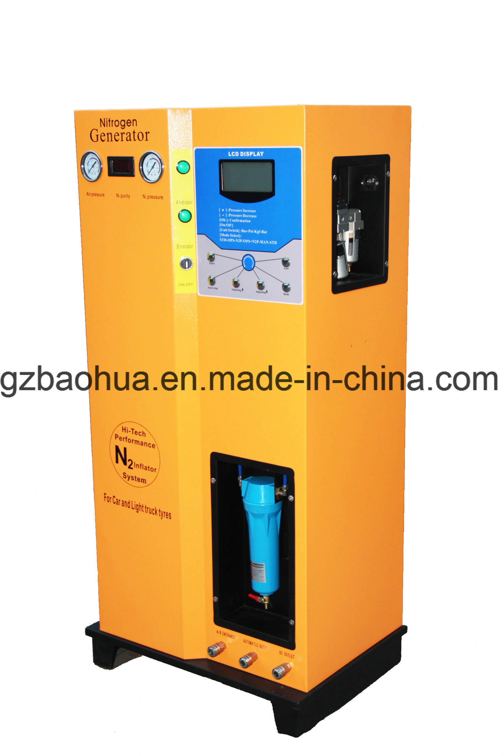 Ho-D100A Fully Automatic Nitrogen Generator pictures & photos