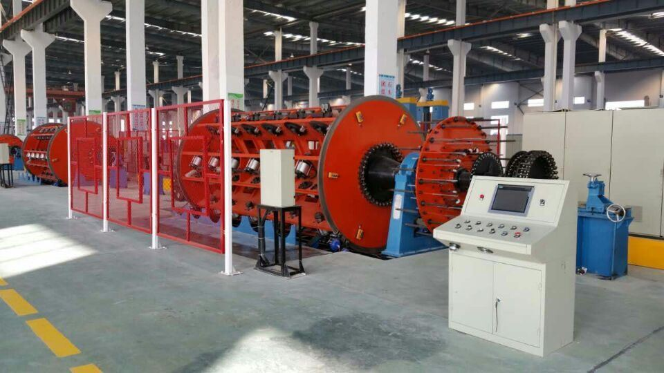Frame Type Rigid Stranding Machine Jlk for Copper Wire