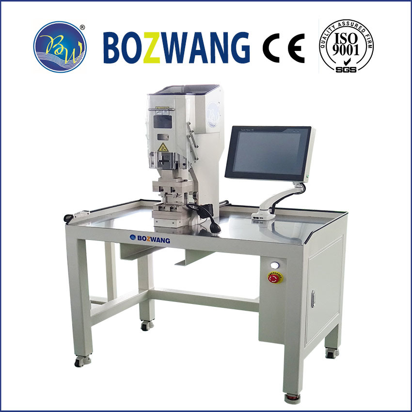 Servo Double Position Crimping Machine for Jb Box pictures & photos