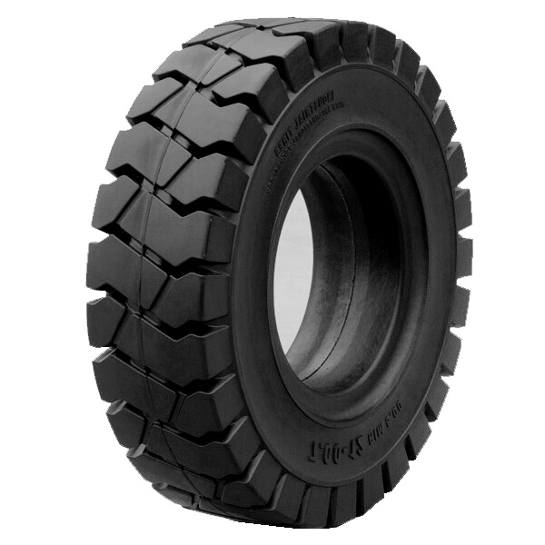 China Forklift Solid Wheel Tire 8.25-16 For Linde