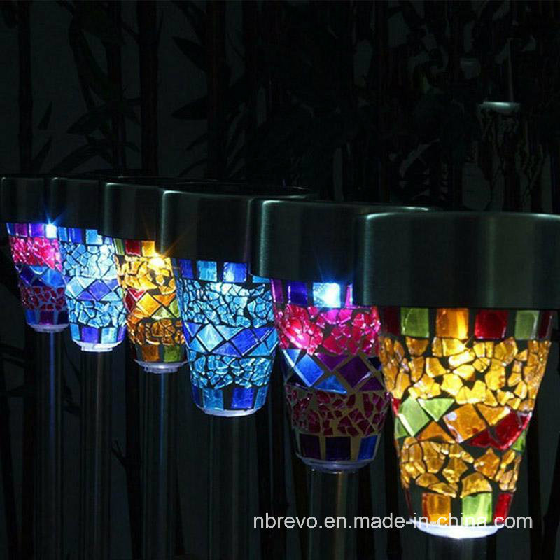 Solar Powered LED Garden Mosaic Decorative Light (RS100) pictures & photos