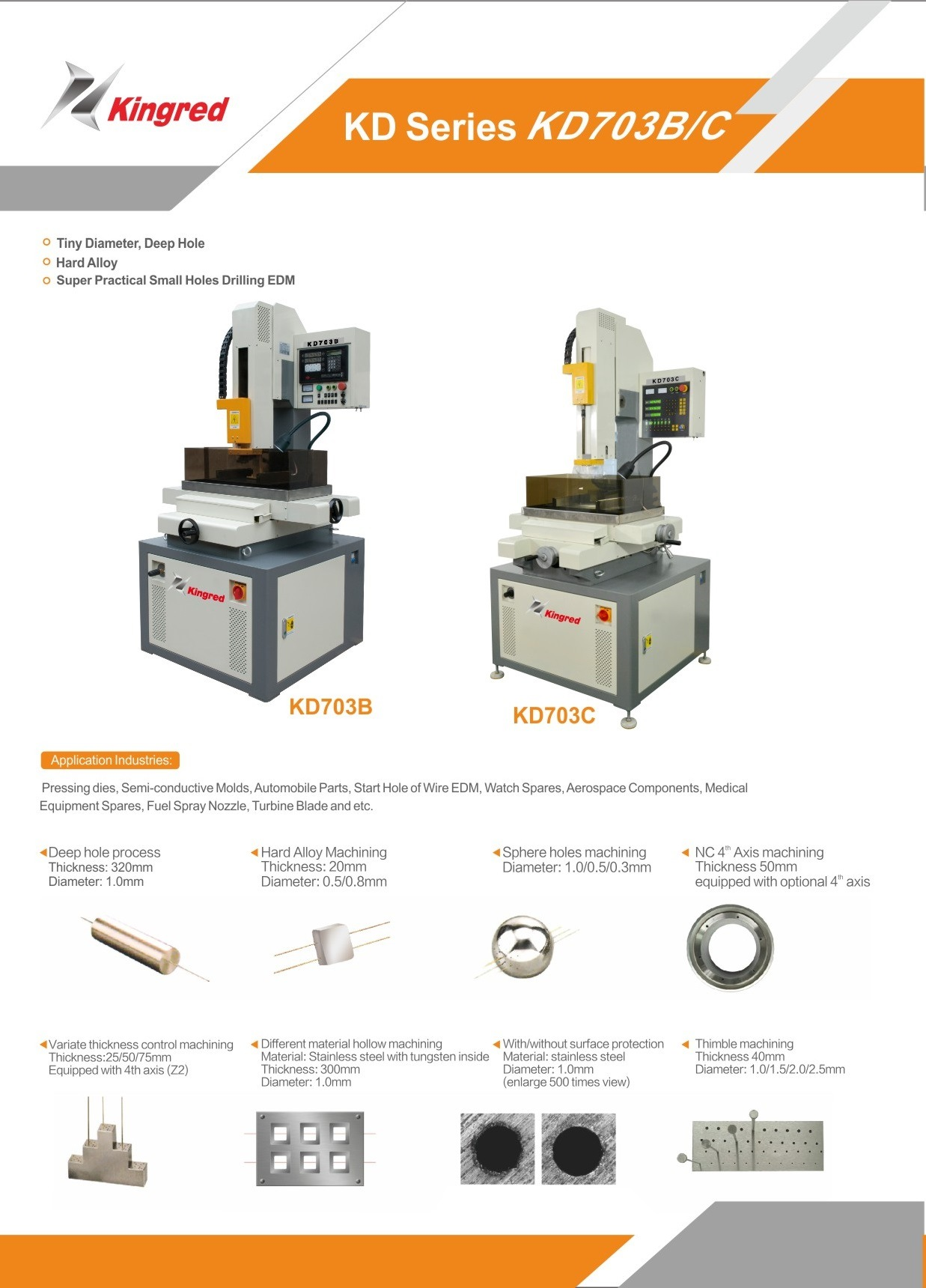 EDM Hole Driller, EDM Drilling Machine pictures & photos