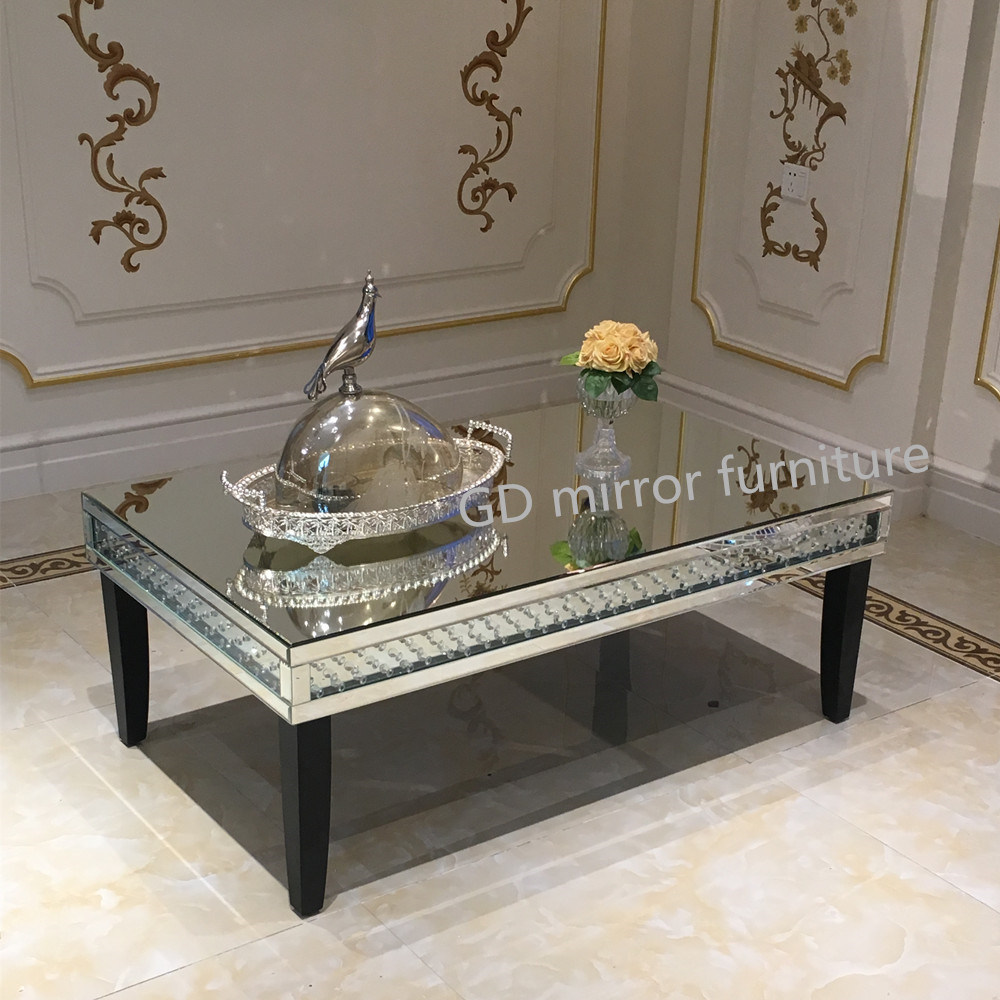 All Mirror Coffee Table.Hot Item Home Hotel Furniture Square 3 Layer Book Shape Mirror Coffee Table