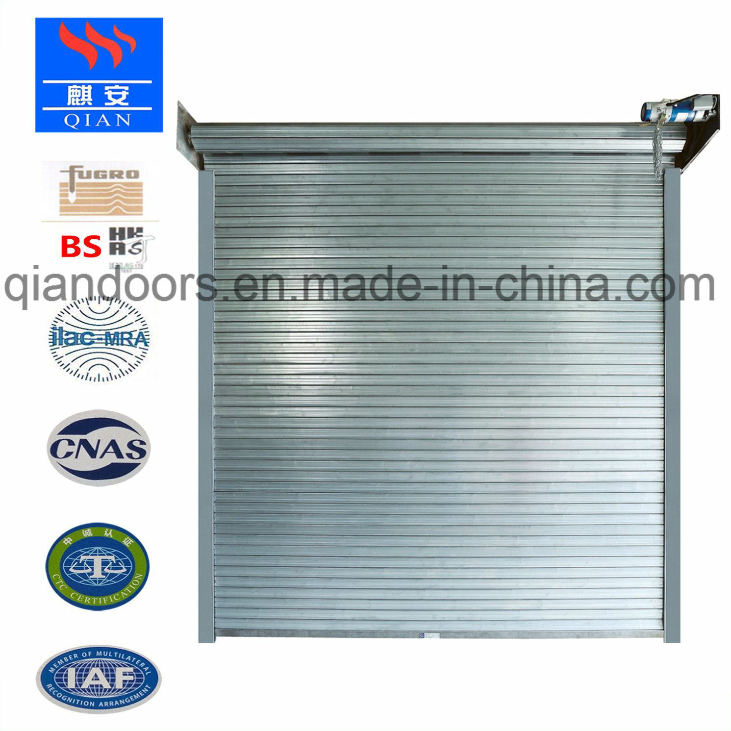Hot Item Automatic Steel Fire Rated Roller Shutter