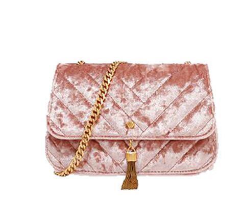 63cb01c62f31 China Lady Fashion Designer Brand Chain Strap Suede Crossbody ...
