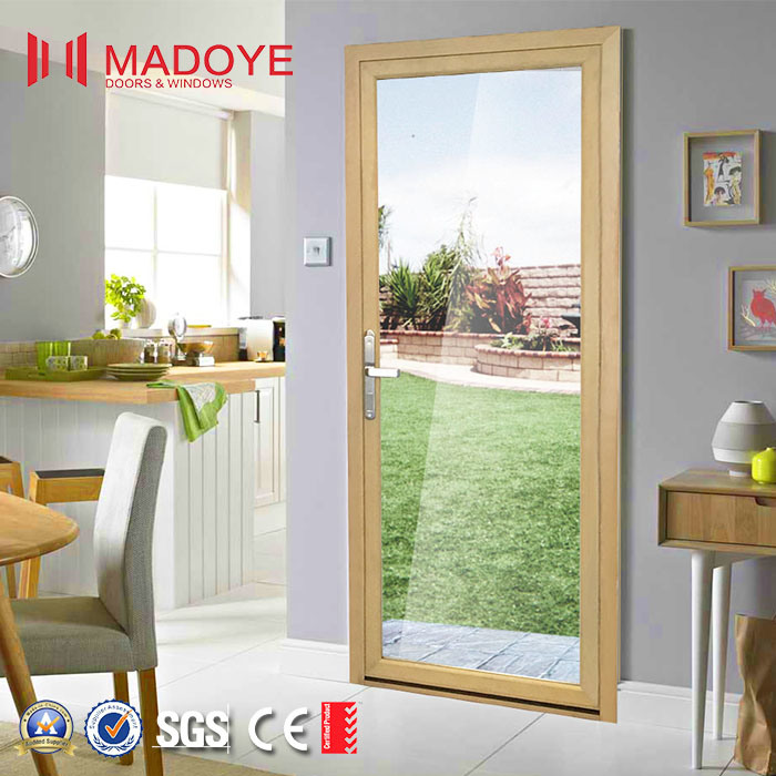 China Metal Frame Glass Door With Fingerprint Lock For Office