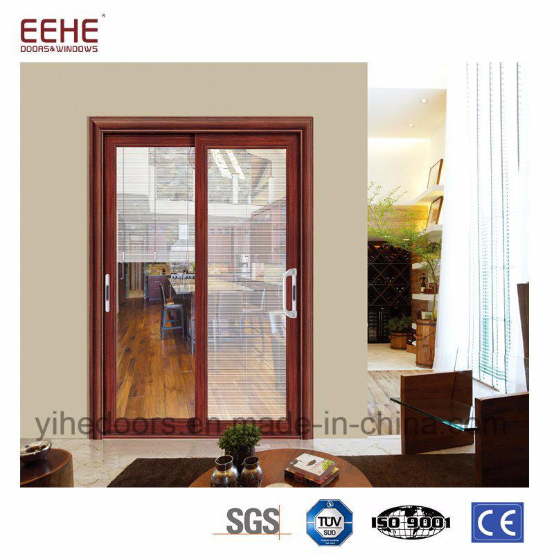China Aluminium Tempered Glass Sliding Door For Bathroom Photos