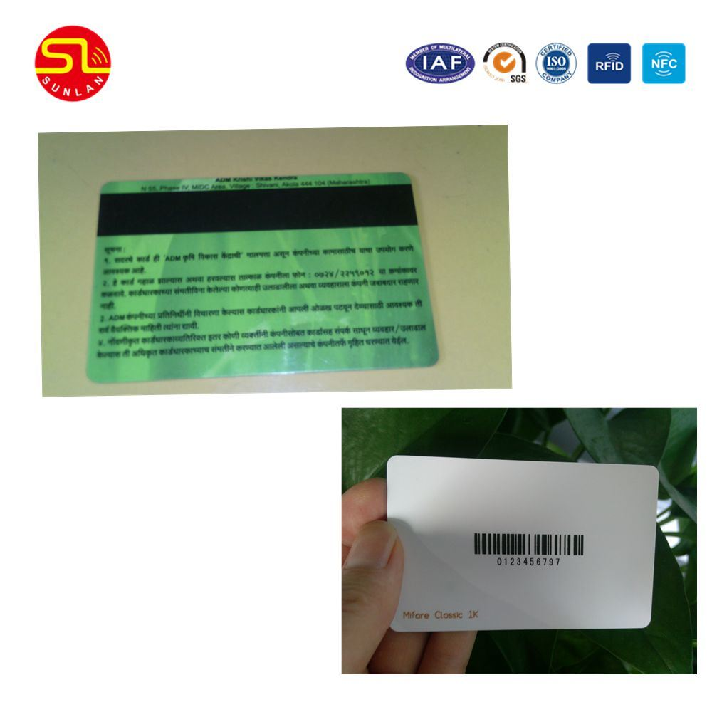 2016 Hot Selling Blank White PVC Recordable /IC/ID /NFC/Tk4100/Em/UHF/Mf Magnetic Stripe Smart Card (Free samples) pictures & photos