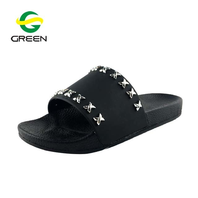 5e6a630bf6e China Greenshoe Ladies Slippers and Sandals, Party Slippers for Women Slide  Sandals, Latest Women Fashion Nude Sandal - China Slide Sandals, Slide  Slippers