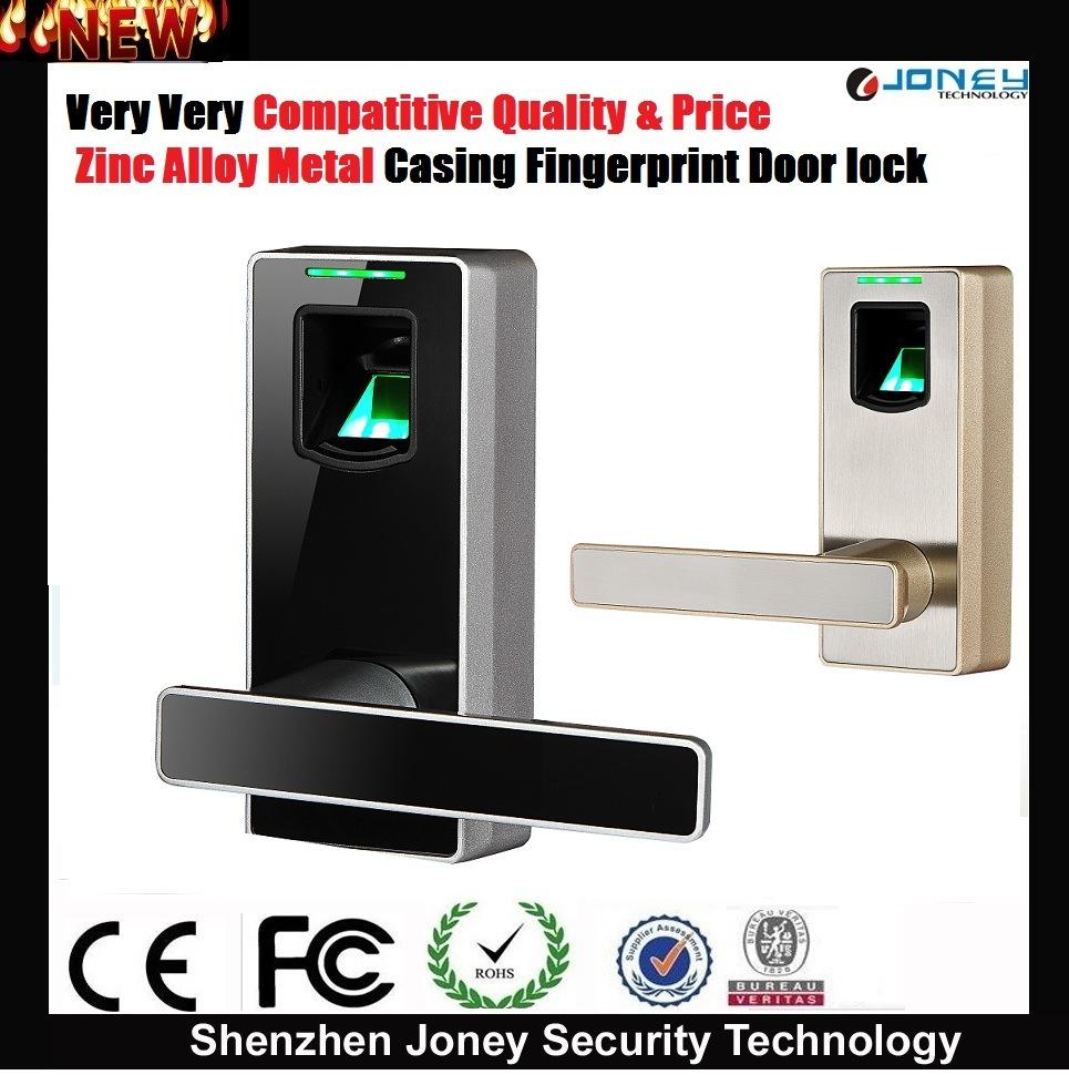 China Zinc Alloy Metal Biometric Fingerprint Scanner Door Lock for ...