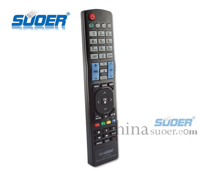 Suoer LCD LED Universal TV Remote Control for LG (LG-214E) pictures & photos
