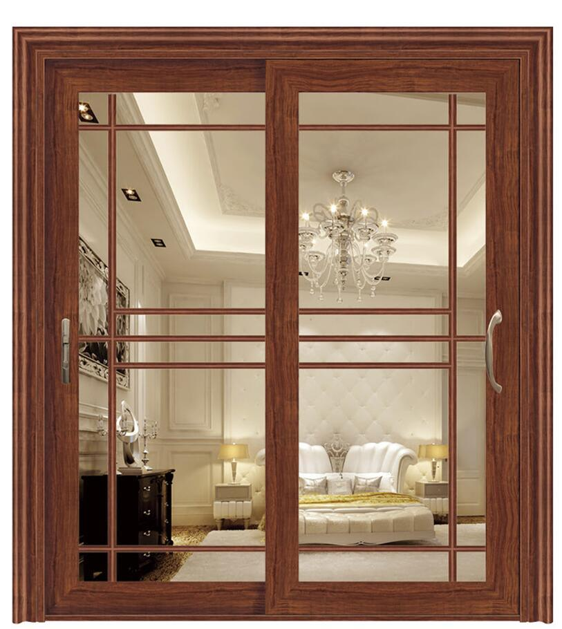 China Thermal Break Double Glazing Aluminum French Door Folding Door