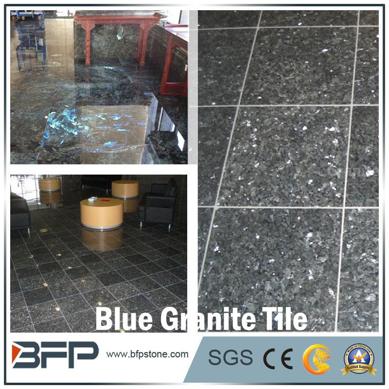 China Blue Pearl Granite Floor Tile For Flooring Wall Bathroom