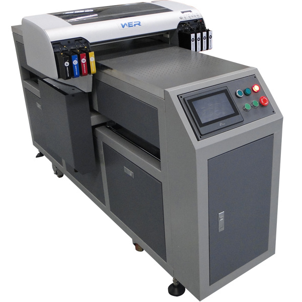 Ce Approved Inkjet LED UV Flatbed Printer for Metal, Wood, Acrylic and PVC Card pictures & photos