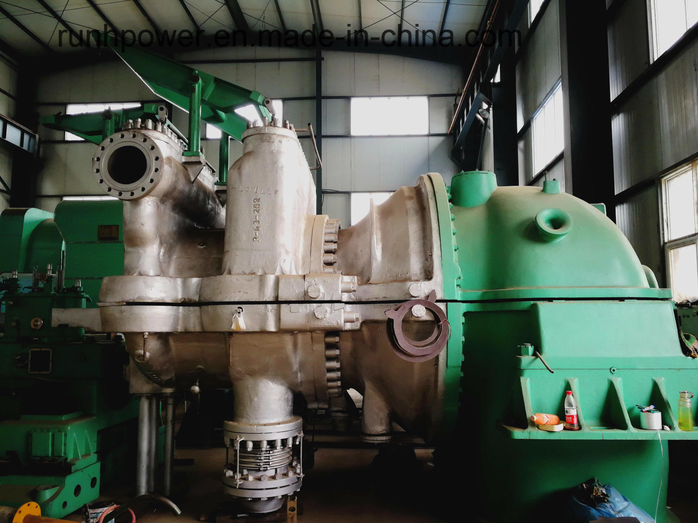 China Pre-Owned/Used Steam Turbine and Generator for Power Plant EPC ...