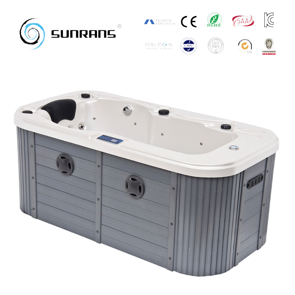 China new design luxury mini indoor 1 person hot tub spa for Types of hot tubs