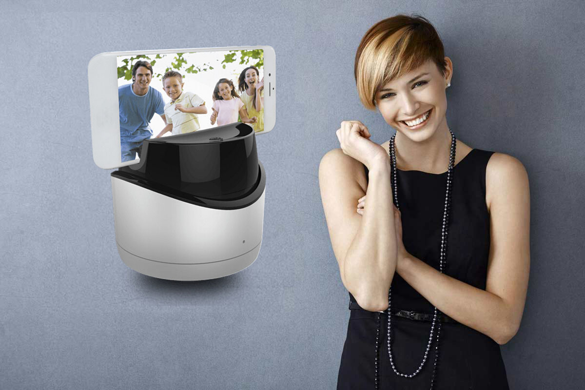 China Smart Selfie Robot 360 Face Tracking Photo and Video Recorder