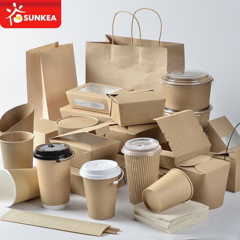 China Custom Food Grade Paper Box Hot Food Packaging