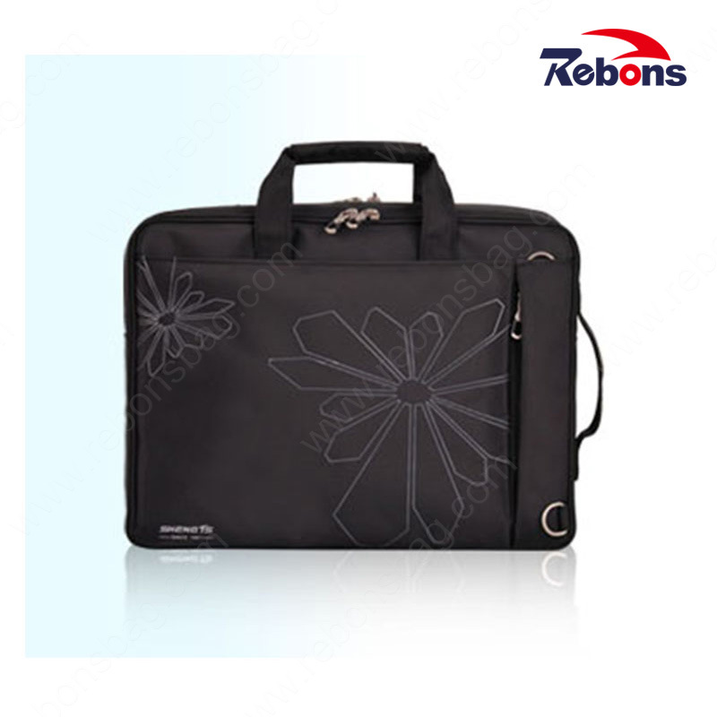 4c496bdcf China Stylish Black Business Wholesale Classic Flower Pattern Nylon  Computer Backpack Waterproof Laptop Backpack Bag for Men with Adjustable  Shoulder Strap ...