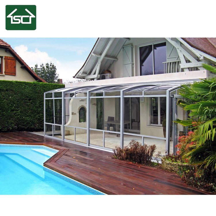 Elegant Retractable Aluminum Garden