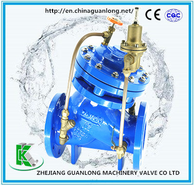 Globe Double Chamber Adjustable Pressure Regulating Pressure Reducing Valve (Yx741X) pictures & photos