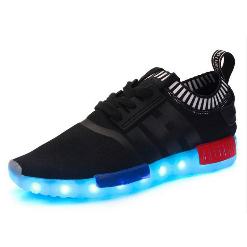 Popular PU Material Man/Woman PU Material LED Shoe pictures & photos