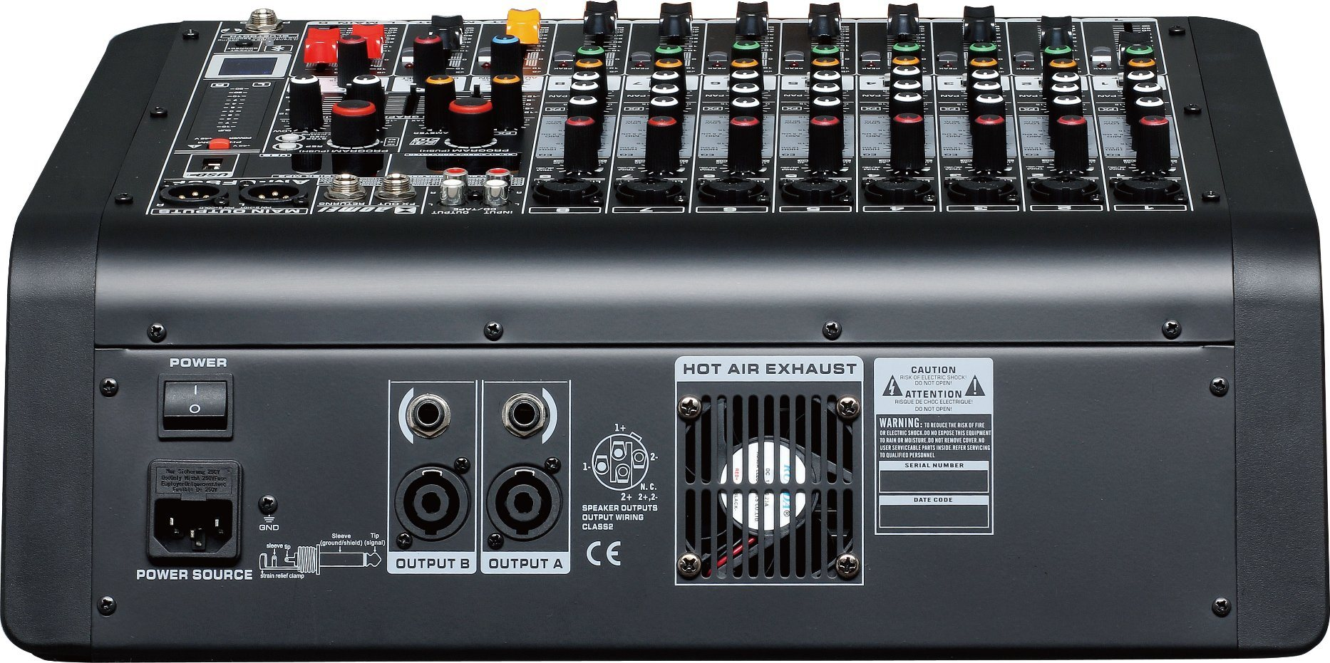 Special New Design Powered Mixer CF80p Series Professional Amplifier