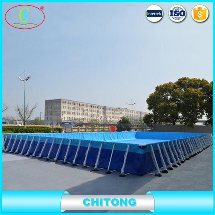 China 12*36 FT Intex Metal Frame Pool, Customized Size Metal Frame ...
