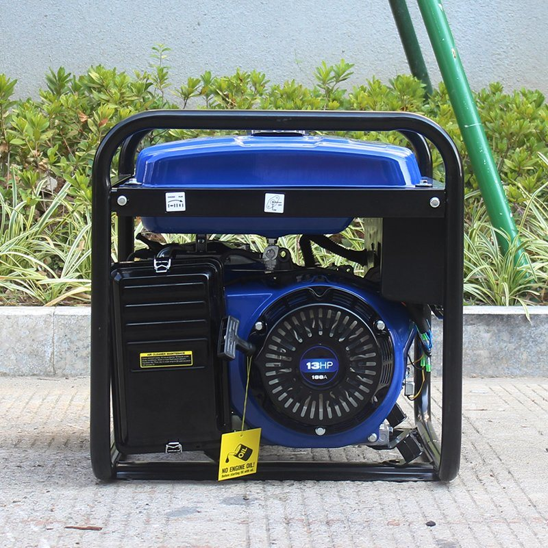 Bison (China) BS6500p 5kw 5kVA 5000W 1year Warranty Durable Copper Wire Power Portable Silent Generator for Export