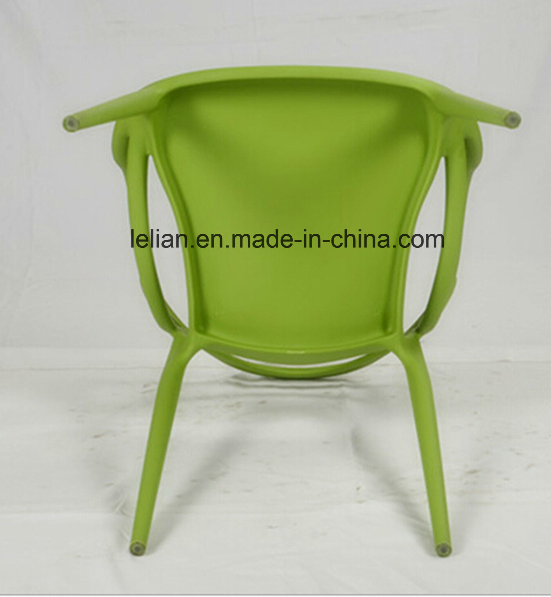 Moulded PP Plastic Stacking Dining Chair, Outdoor Garden Chair (LL-0052)