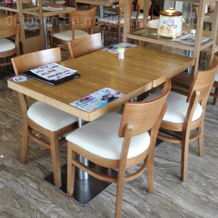 Hot Item Commercial Restaurant Table And Chair Wooden Dining Furniture Sp Cs337