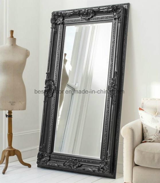 Frame Wall Floor Mirror Decorative