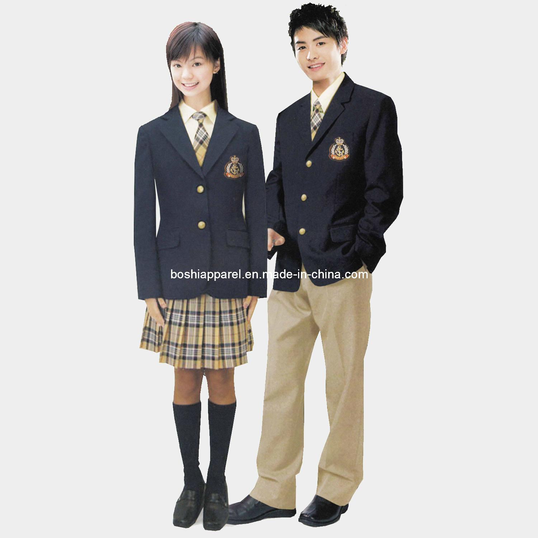China 2013 Graceful School Blazer School Uniform La L08