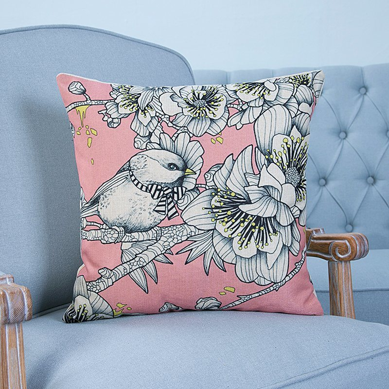 Digital Print Decorative Cushion/Pillow with Animals Pattern (MX-15)