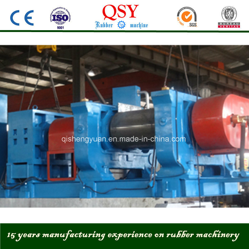Harden Tooth Surface Reducer Rubber Cracker Machine/Rubber Crusher Machine