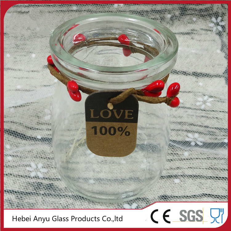China Wedding Decorative Gift Personalized Glass Candy Jars Photos ...