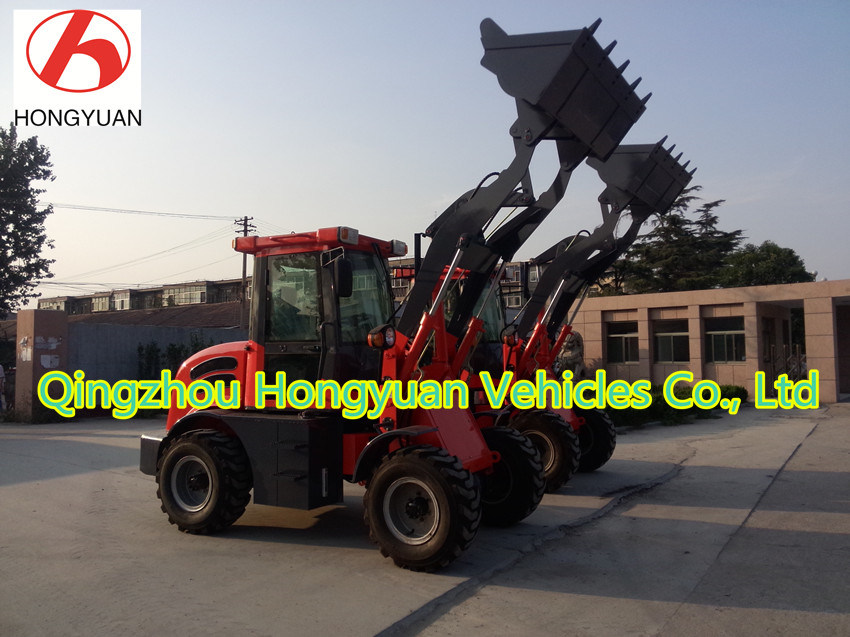 Hydraulic Front End Loader Zl12 with 1200kg Rated Loading Weight