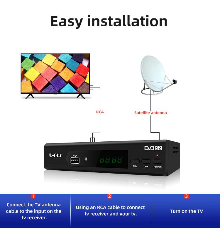 China Perfect Hd Iptv Youtube Wifi Decoder Internet Satellite Tv Receiver China Iptv Decoder