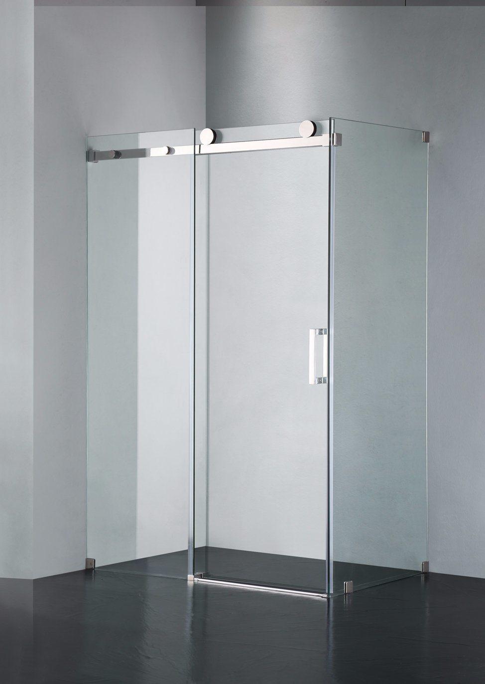 Hot Item Upc 05 Straight Frameless Double Sliding Shower Door