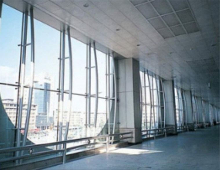 China Steel Truss Curtain Wall China Curtain Wall