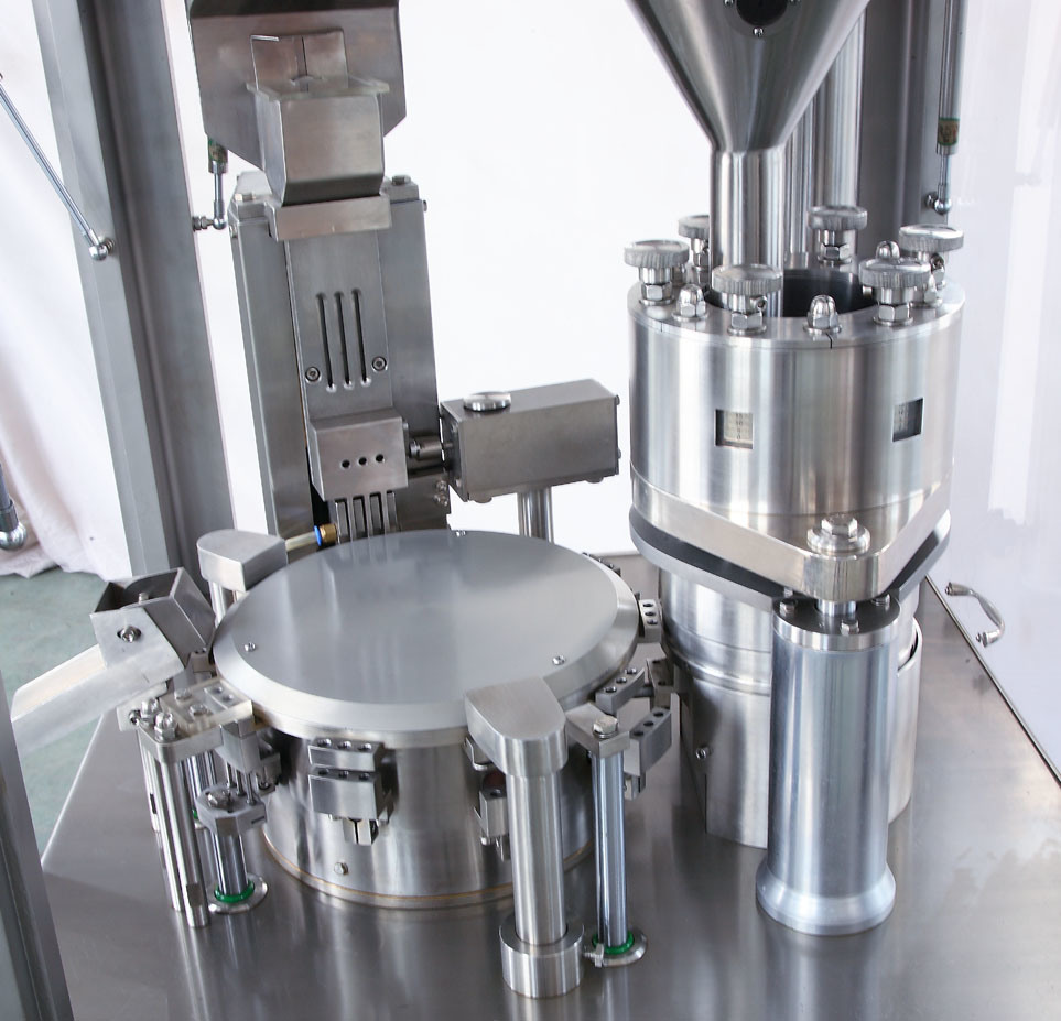 CE & Auto Capsule Filling Machine (NJP-400)