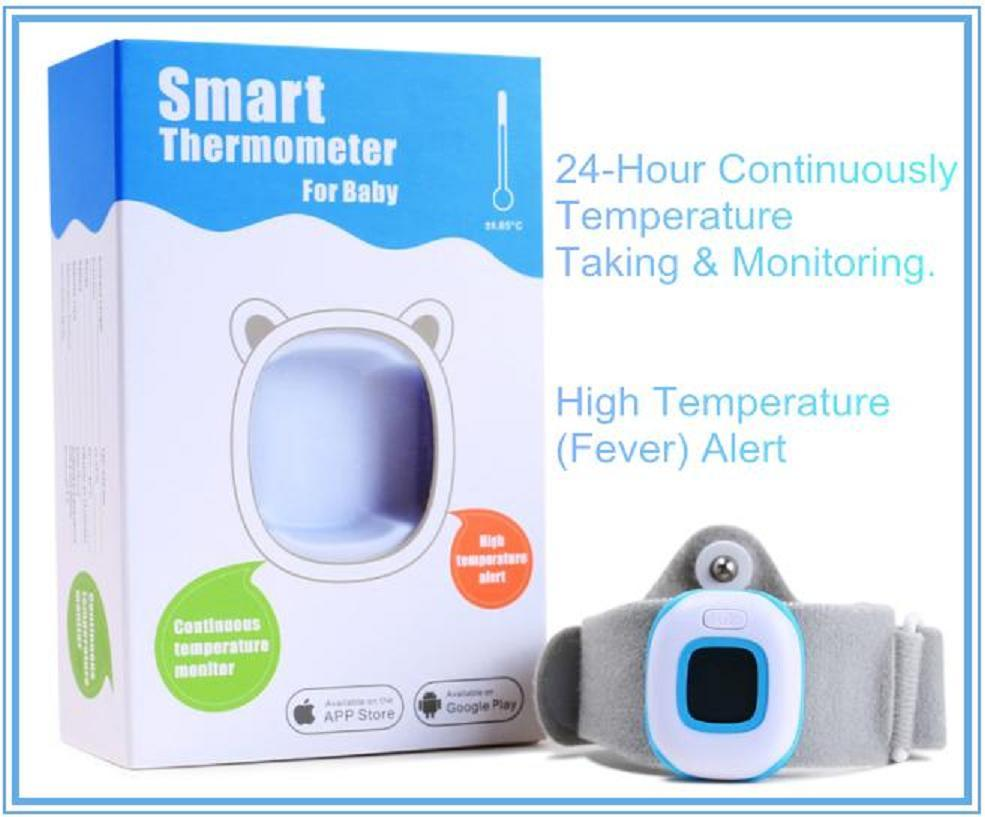China Digital APP Thermometer for Baby with Body Temperature ...