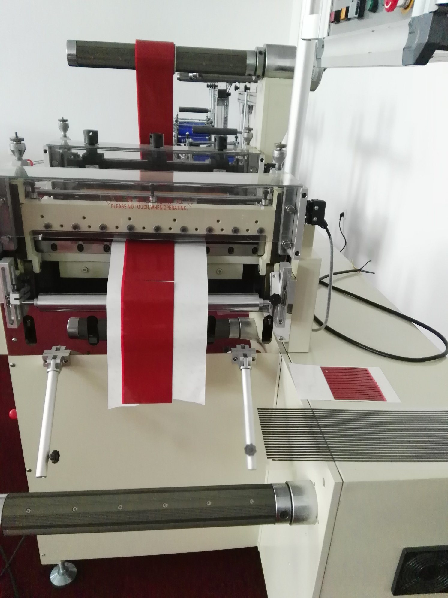 3m Foam Tapes Interval Laminating Cutting Machine Without Discharge pictures & photos