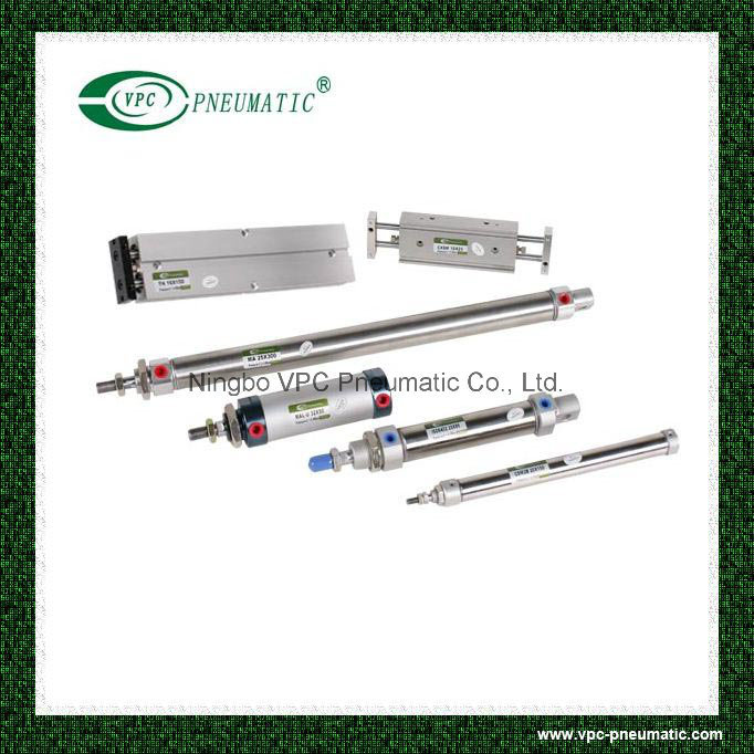 Cxsm Series Pneumatic Slide Cylinder Compact Air Cylinder pictures & photos