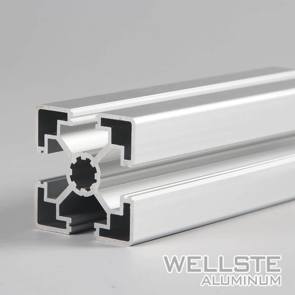 China Structural Aluminum T-Slotted Framing System Aluminum ...